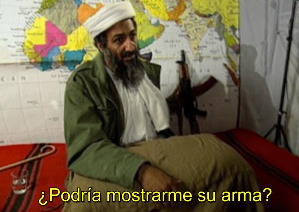 Osama Bin Laden en 'The looming tower' (Hulu)
